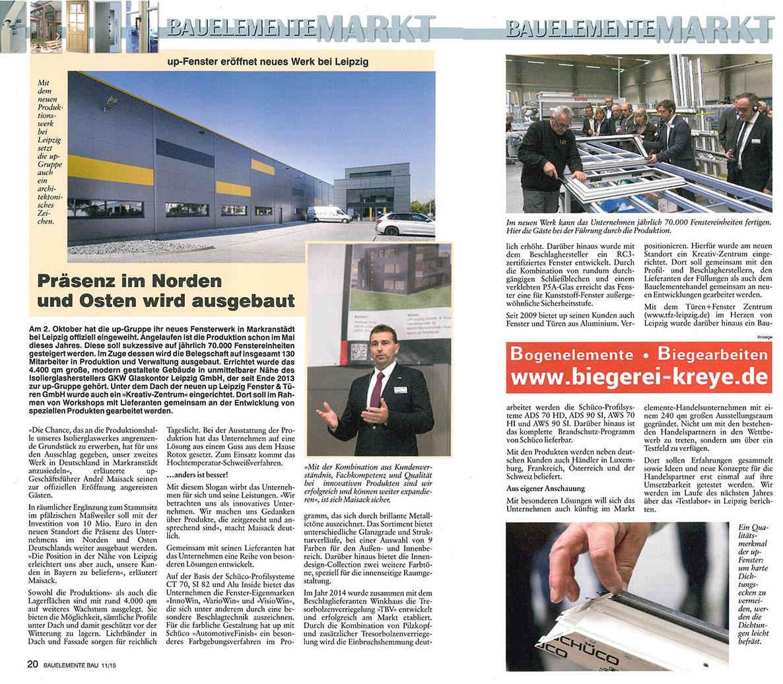 BEB Pressebericht Eröffnung Leipzig